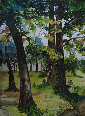 Painting - Summer by Lupamudra Dutta