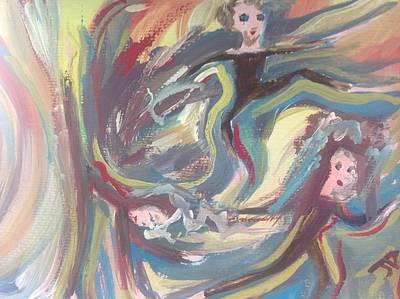 Summer Madness Art Print by Judith Desrosiers