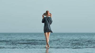 Windy Photograph - Summer by Mikhail Potapov