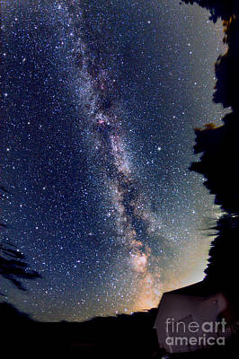 Photograph - Summer Milky Way, 2013 by John Chumack