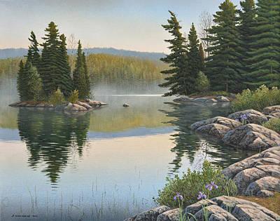 Summer Mist Art Print