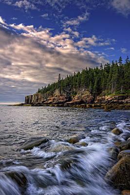 Coastal Maine Photograph - Summer Morn by Rick Berk