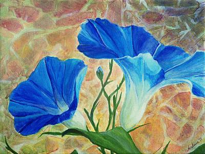 Earth Day Painting - Summer Morning by Arlissa Vaughn