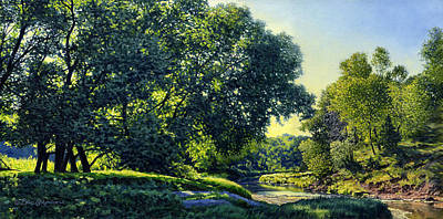 Painting - Summer Morning by Bruce Morrison