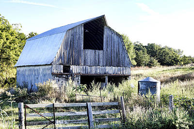 Barn Lots Photograph - Summer Morning by Cricket Hackmann