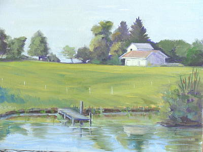 Painting - Summer Morning by Judy Fischer Walton