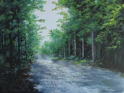 Summer Morning Art Print by Ken Ahlering