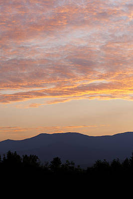 Photograph - Summer Mountain Dusk by Alan L Graham