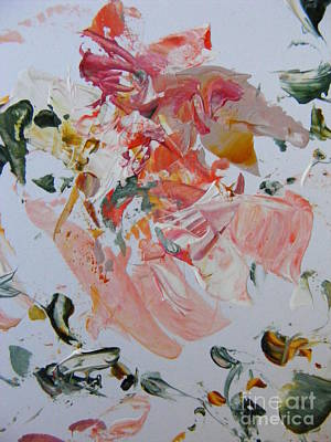 Merging Painting - Summer by Nancy Kane Chapman