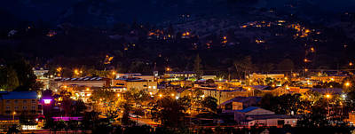 Photograph - Summer Night In Paso by Tim Bryan