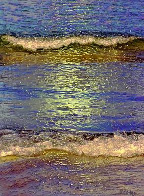 Painting - Summer Nocturne by David Wiles
