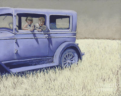 Summer Of '29 Art Print by Tracy L Teeter