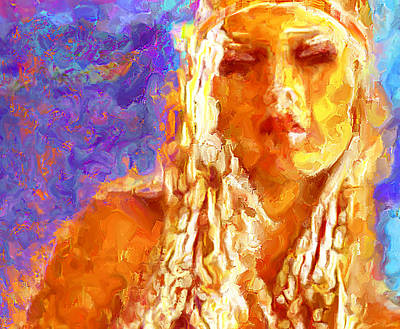 Rhythm And Blues Digital Art - Summer Of Love ---- S F   '67   by Lee Haxton