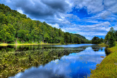 Fir Trees Photograph - Summer On Bald Mountain Pond by David Patterson