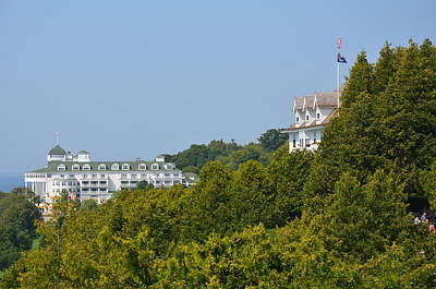 Photograph - Summer On Mackinac Island by Brett Geyer