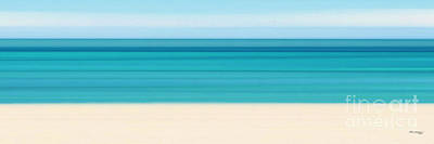 Summer On The Beach Panoramic Print by Mark Lawrence