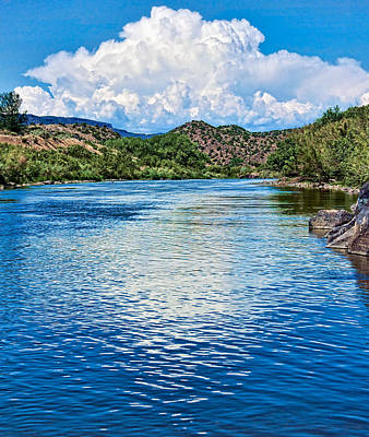 Photograph - Summer On The Rio Grande by Britt Runyon