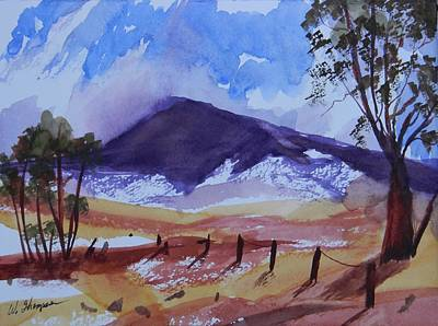 Shadows Painting - Summer Outback by Warren Thompson