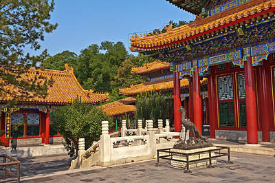 Photograph - Summer Palace Beijing China by Marek Poplawski