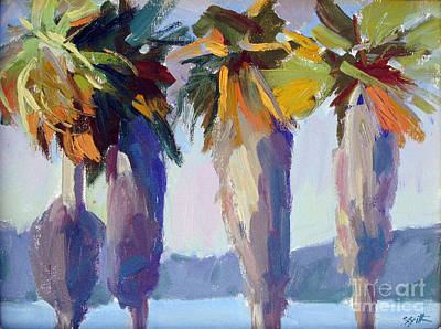 Painting - Summer Palms by Sandra Smith-Dugan