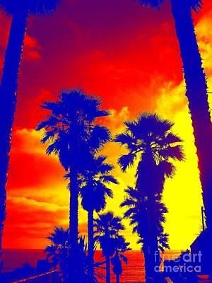 Summer Palms Art Print