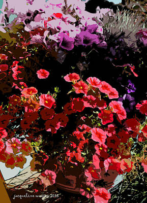 Photograph - Summer Pinks by Jacqueline  DiAnne Wasson