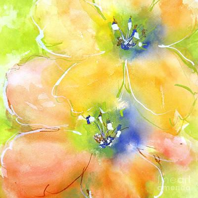 Summer Poppies 1 Art Print