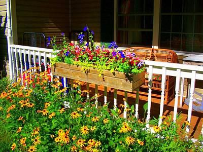 'summer Porch' Art Print