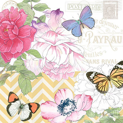Summer Postcards-a Original by Jean Plout