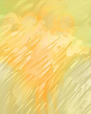 Painting - Summer Rain Abstract Art by Ann Powell