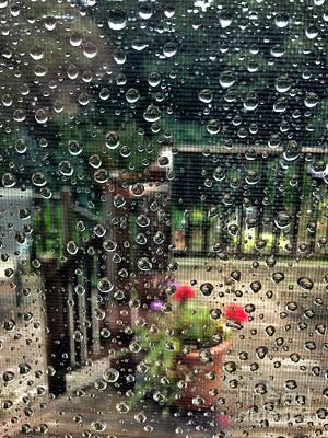 Summer Rain Art Print by HD Connelly