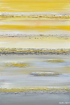 Summer Reflections Art Print by Christine Krainock