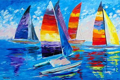 Summer Regatta Art Print