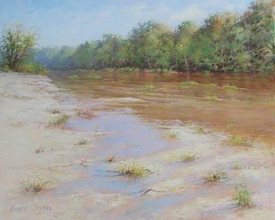 Pastel Pastel - Summer River by Nancy Stutes