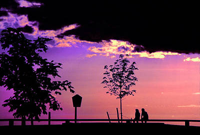 Art Print featuring the photograph Summer Romance by Mike Flynn