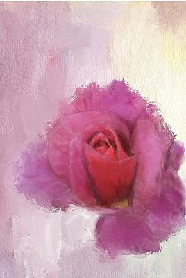 Digital Art - Summer Rose by Mary M Collins