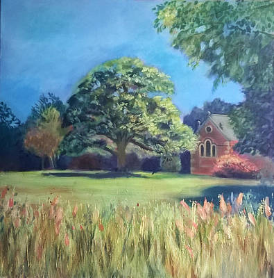 Wall Art - Painting - Summer Scene by Alison Stafford