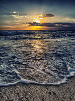 Grey Clouds Photograph - Summer Sea by Stelios Kleanthous