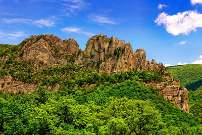Photograph - Summer Seneca Rocks by Mary Almond