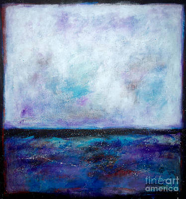 Summer Series A Night At The Ocean Print by Johane Amirault