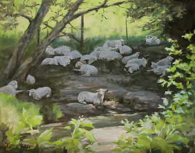 Painting - Summer Shade by Karen Ilari