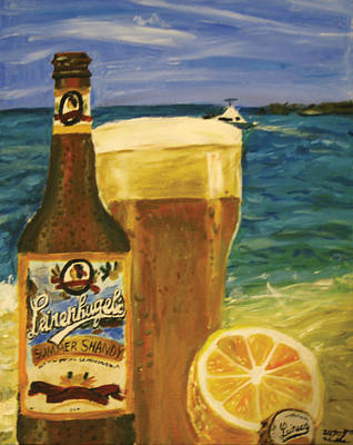Painting - Summer Shandy by Whitney Wiedner