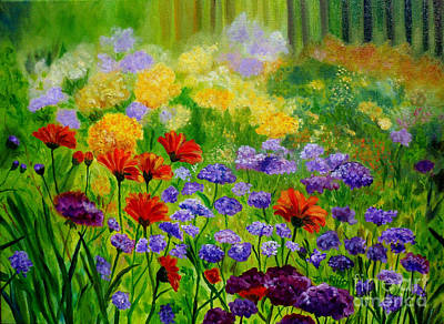 Painting - Summer Show by Julie Brugh Riffey