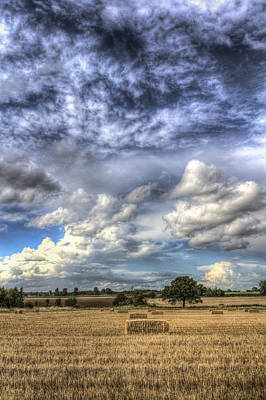 Photograph - Summer Sky Farm by David Pyatt