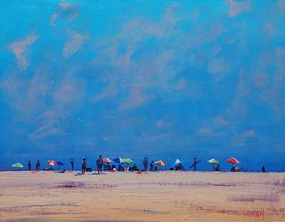 Sand Dunes Painting - Summer Sky by Graham Gercken
