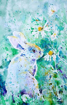 Summer Smells Art Print by Zaira Dzhaubaeva