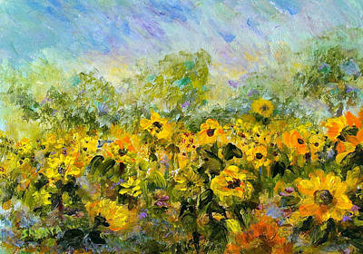 Painting - Summer Soldiers by Laurie Samara-Schlageter