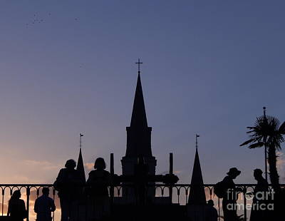 Photograph - Summer Solstice Of Faith At The Saint Louis Cathedral In New Orleans Louisiana  by Michael Hoard