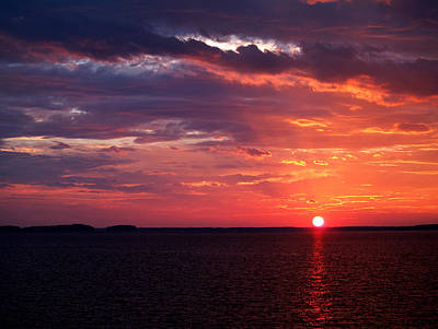 Photograph - Summer Solstice On Lake Murray by Charles Hite