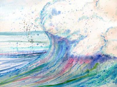 Painting - Summer Spray by Daniel Dubinsky